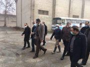 بازدید مجدد مدیر عامل و نائب رئیس هیات مدیره شرکت دخانیات ایران از مجموعه انبار های هشتگرد