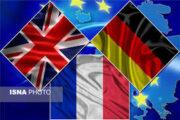 بیانیه تروئیکای اروپا درخصوص لغو اجرای پروتکل الحاقی از سوی ایران