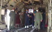 مراسم استقبال از پیکر مطهر شهید خلبان «بیرجند بیکمحمدی»