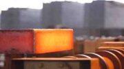 کسب رکورد تولید ماهیانه تختال  در فولاد هرمزگان