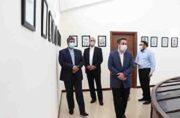 نمایشگاه دائمی تمبر در اداره پست کیش افتتاح شد