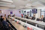 جلسه شورای مدیران بیمه سرمد با روسای شعب و مدیران استانی
