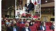 مراسم گرامیداشت هفته دفاع مقدس در پست بانک ایران برگزار شد