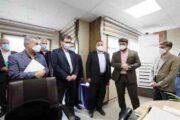 بازدید سرپرست سازمان تامین اجتماعی از شعبه یک تهران