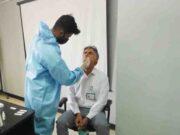 Rapid test کارکنان شرکت پتروشیمی آپادانا خلیج فارس