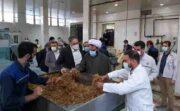 بازدید دکتر افضلی مدیر عامل و نایب رئیس هیئت مدیره و هیئت همراه از مجتمع دخانیات اصفهان