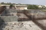 پیشرفت ۷۰ درصدی ساخت مخزن SBR تصفیه خانه شمال جزیره