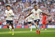 انگلیس یک گام دیگر به جام جهانی نزدیک شد