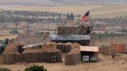 حمله موشکی به پایگاه آمریکا در شرق سوریه