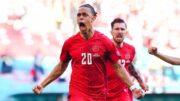 دانمارک زننده دومین گل زودهنگام تاریخ یورو