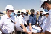 روند ساخت واحد فرآورشمرکزی آزادگان جنوبی بررسی شد
