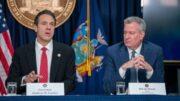 شهردار نیویورک: فرماندار باید استعفا دهد