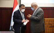 گروه مپنا میزبان وزیر برق عراق